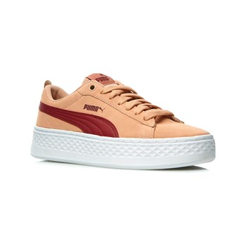 Puma - Baskets en cuir - saumon