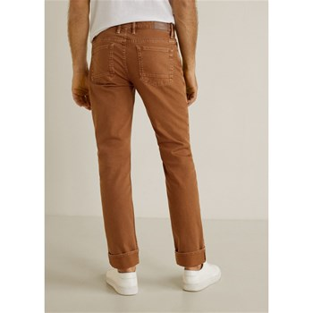 Mango Man - Alex - Jean slim - marron