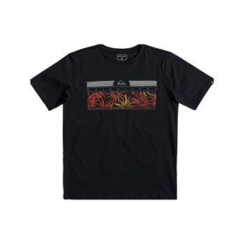 THEJUNGLESSYTH B TEES - T-SHIRT MANCHES COURTES - NOIR Quiksilver