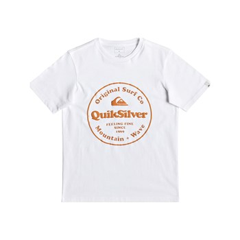 Quiksilver - Secret Ingredient - Maglietta a maniche corte - bianco