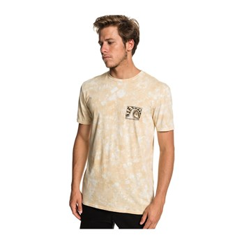 Quiksilver - Bored In The Barrel - T-shirt manches courtes - beige