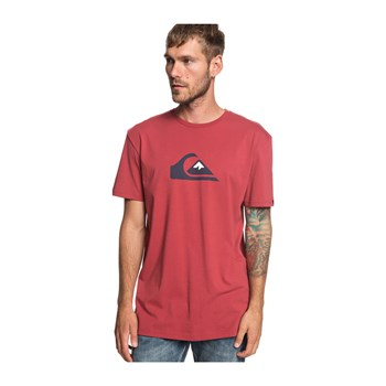 Quiksilver - M And W - T-shirt manches courtes - rouille