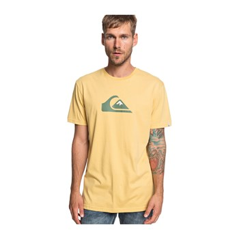 Quiksilver - M And W - T-shirt manches courtes - jaune