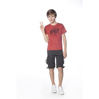 Deeluxe - Foremost - T-shirt manches courtes - rouge