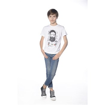 Deeluxe - Clyde - T-shirt manches courtes - blanc