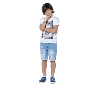 Deeluxe - Crystal - T-shirt manches courtes - blanc