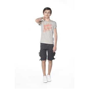 Deeluxe - Reaser - T-shirt manches courtes - gris clair