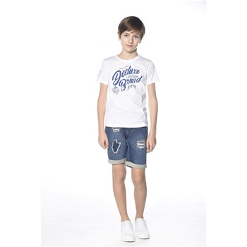 Deeluxe - Reaser - T-shirt manches courtes - blanc