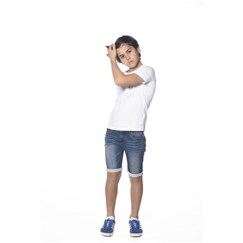 Deeluxe - Skool - T-shirt manches courtes - blanc