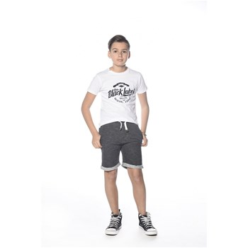 Deeluxe - Record - T-shirt manches courtes - blanc