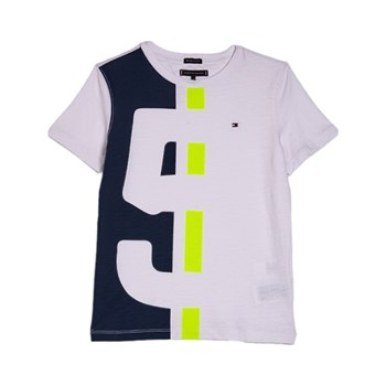Tommy Hilfiger Junior - T-shirt manches courtes - blanc