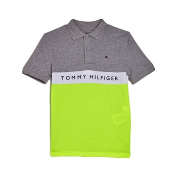 Tommy Hilfiger Junior - Polo manches courtes - bruyère