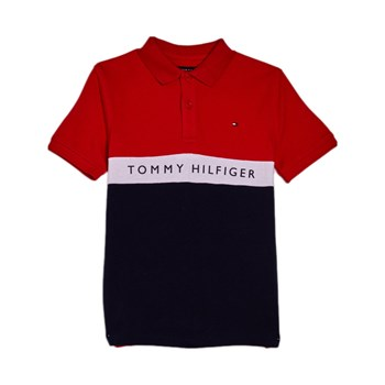 Tommy Hilfiger Junior - Polo manches courtes - rouge
