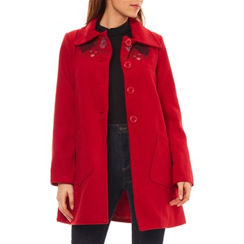 Claudia Fabri - Manteau - rouge
