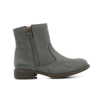 Kickers - Rox - Bottines en cuir - gris