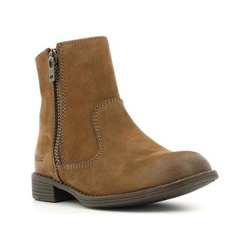 Kickers - Rox - Bottines en cuir - marron