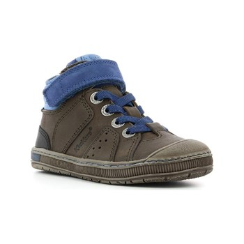Kickers - Iguane - Sneakers alte in pelle - marrone