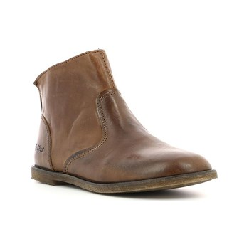 Kickers - Roxanna - Bottines en cuir - marron
