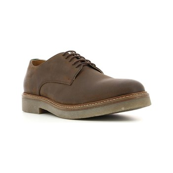 Kickers - Oxfork - Lederderbies - braun