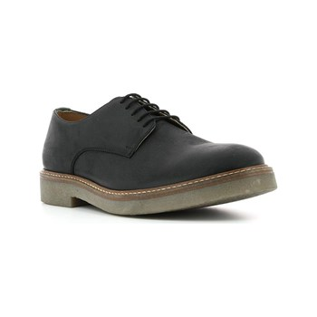 Kickers - Oxforx - Leren derbies - zwart