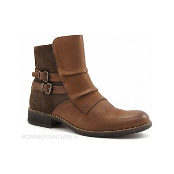 Kickers - Smatchy - Boots - marron clair