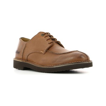 Kickers - Trainer - Leren derbies - camel