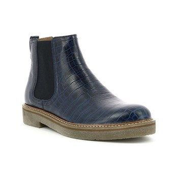 Kickers - Oxfordchic - Stivaletti in pelle - blu scuro