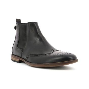 Kickers - Tarragon - Bottines en cuir - noir