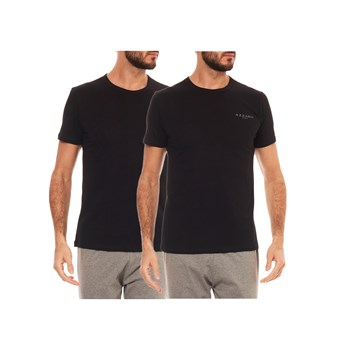 Azzaro - Lot de 2 T-shirts MC - noir
