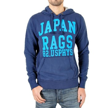 Japan Rags - Sweat à capuche - bleu