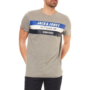 Jack & Jones - Jorshakedowns - T-shirt manches courtes - gris clair