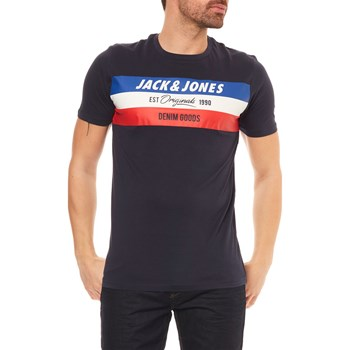 Jack & Jones - Jorshakedowns - T-shirt manches courtes - bleu marine