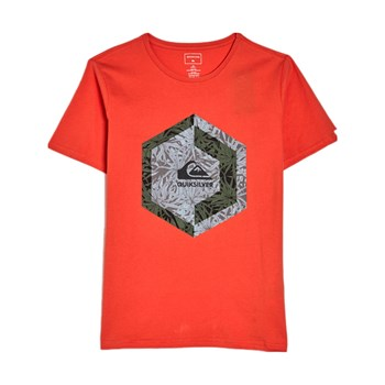 Quiksilver - T-shirt manches courtes - orange