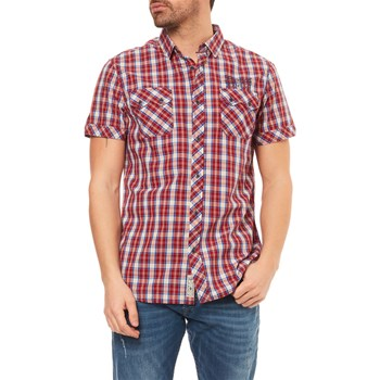 Kaporal - Chemise manches courtes - rouge