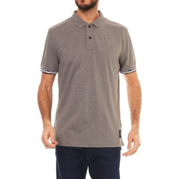 POLO MANCHES COURTES - GRIS Tommy Hilfiger