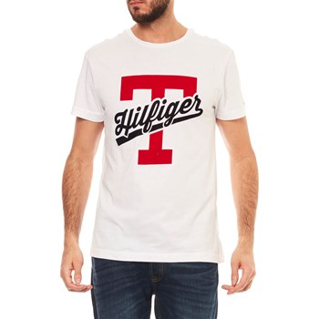 T-SHIRT MANCHES COURTES - BLANC Tommy Hilfiger