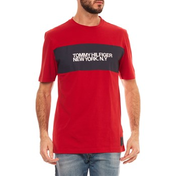 T-SHIRT MANCHES COURTES - ROUGE Tommy Hilfiger