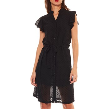 ROBE FLUIDE - NOIR Molly Bracken