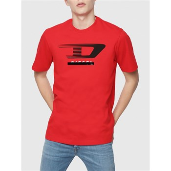 Diesel - Just - T-shirt manches courtes - rouge