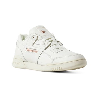 Reebok Classics - Workout Lo Plus - Baskets en cuir - blanc