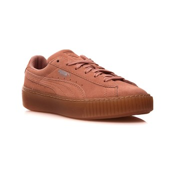 Puma - JR Suede plateform Jewel - Baskets en cuir - rose