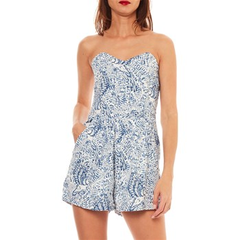 Molly Bracken - Combi-short bustier - bleu