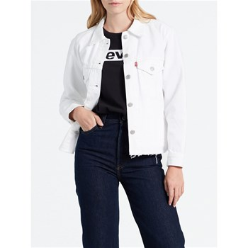 Levi's - Hybrid Slouch - Giacca in jeans - bianco
