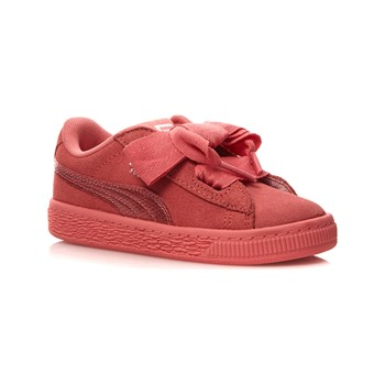 Puma - Suede heart SNK - Baskets en cuir - rose