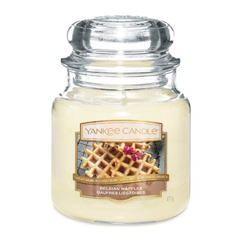 Yankee Candle - Gaufres Liegeoises - Moyenne Jarre - jaune