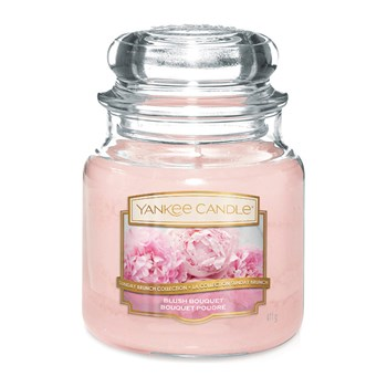 Yankee Candle - Bouquet Poudre - Moyenne Jarre - rose