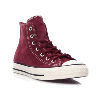 Converse - Chuck Taylor All Star - Sneakers alte in pelle - bordeaux