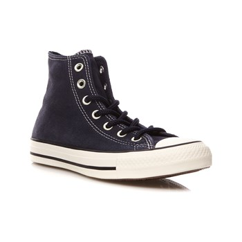 Converse - Chuck Taylor All Star - Sneakers alte in pelle - blu scuro