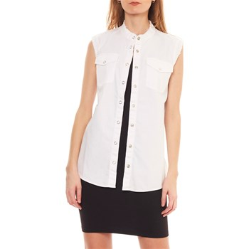 Sonia by Sonia Rykiel - Chemise sans manches - bianco
