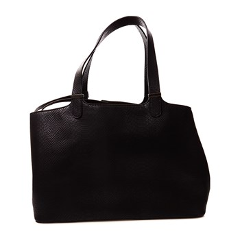 Pieces - Brooke - Shopping-Bag - schwarz